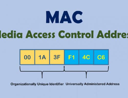 کاربرد مک آدرس در شبکه چیست؟